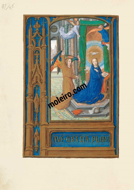 Livro de Horas de Joana I de Castela, Joana a Louca f. 56v