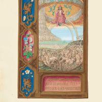 f. 134v, Zweite Parusie