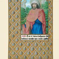 f. 215v, Der Apostel Jakob