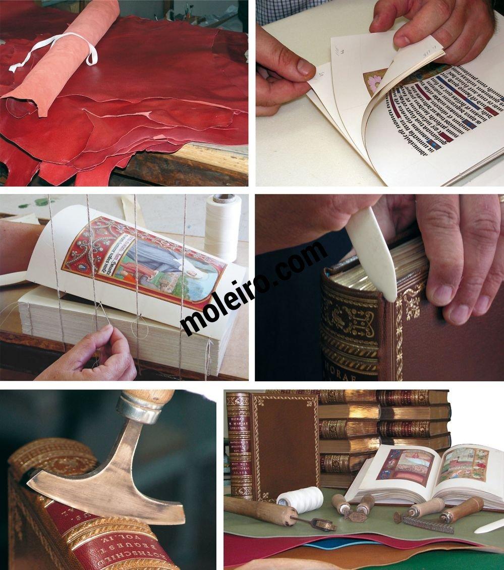 Libro de Horas de Juana I de Castilla Proceso de encuadernación