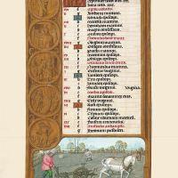 <p>f. 5v, Calendario, Septiembre</p>