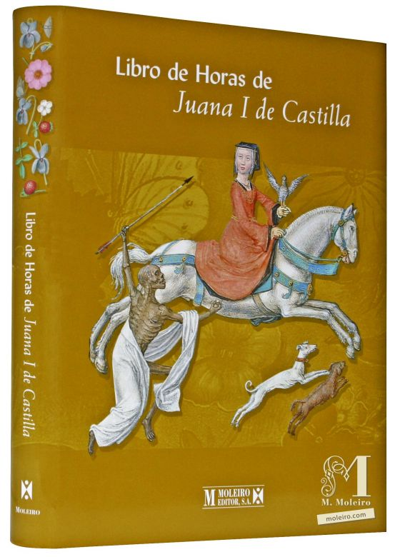 The Hours of Joanna I of Castile Detail of the front and back covers of the Book of Art: Book of Hours of Joanna I of Castile (also known as Joanna the Insane).