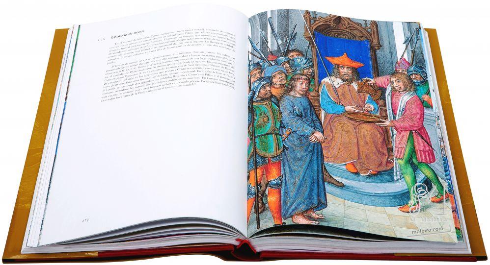 Libro de Horas de Juana I de Castilla f. 27r, Lavatorio de manos