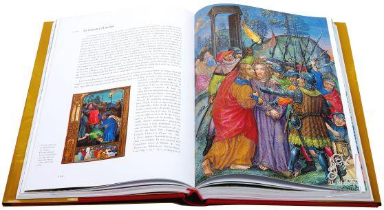 Libro de Horas de Juana I de Castilla La traición y el arresto (f. 21r.)