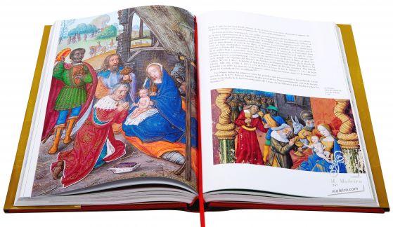 Libro de Horas de Juana I de Castilla La epifanía (f. 101v.)