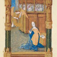 f. 12r.Annunciation