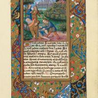 f. 17r. The derision of Noah