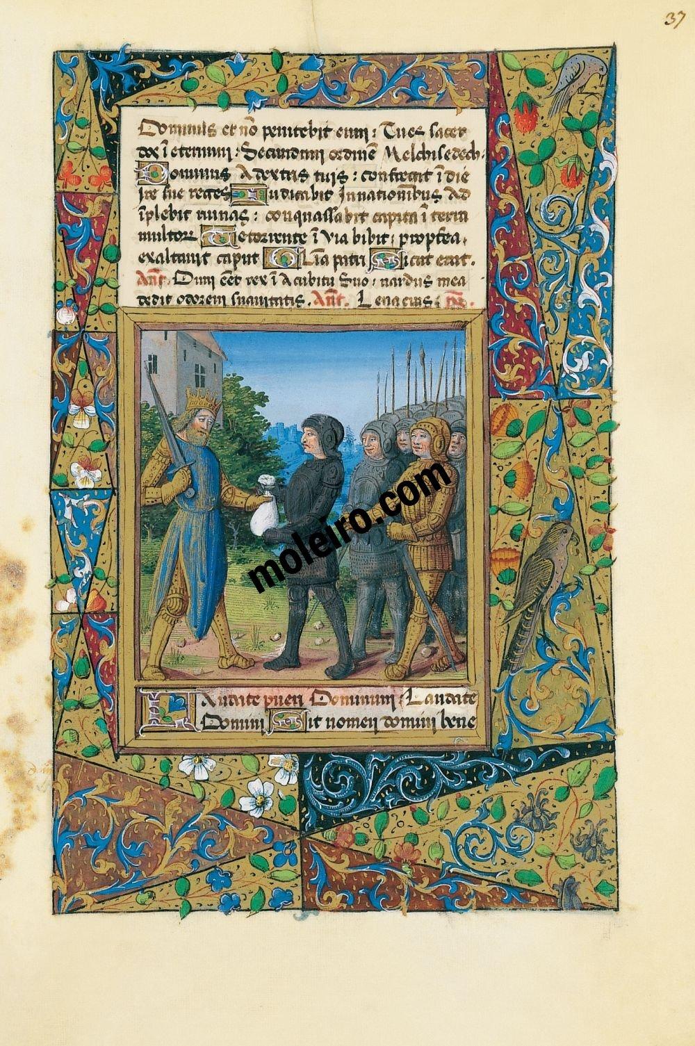 Livro de Horas de Luís de Orleans f. 37r
