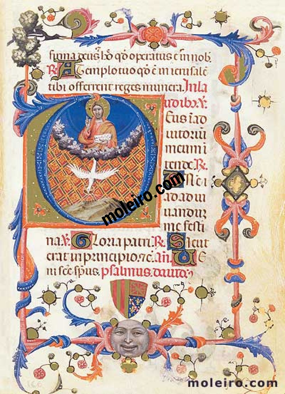 The Book of Hours of Maria of Navarre folio 1r