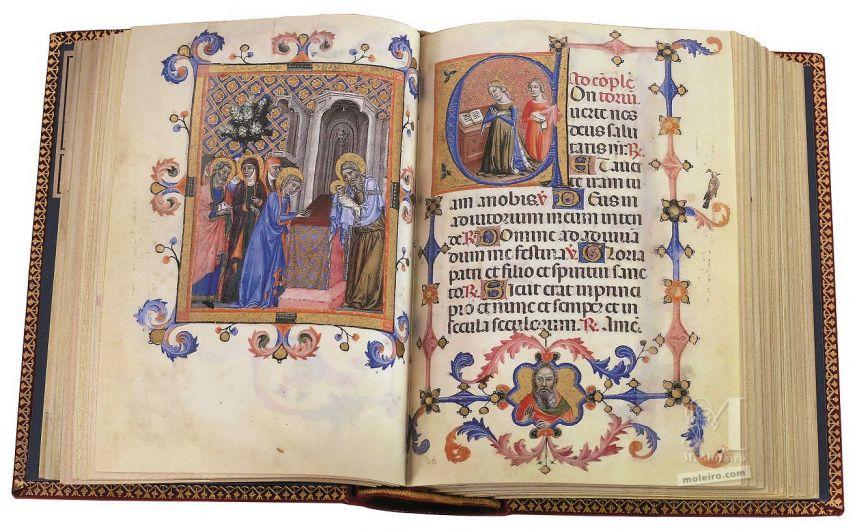 Libro d'Ore di Maria di Navarra Biblioteca Nazionale Marciana, Venezia Biblioteca Nazionale Marciana, Venezia