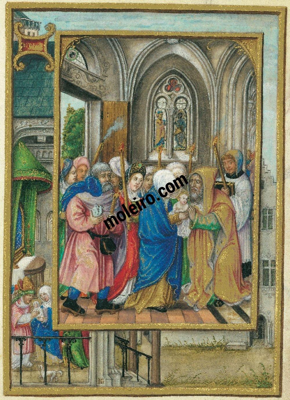 Libro de Oración de Alberto de Brandemburgo  f. 18r