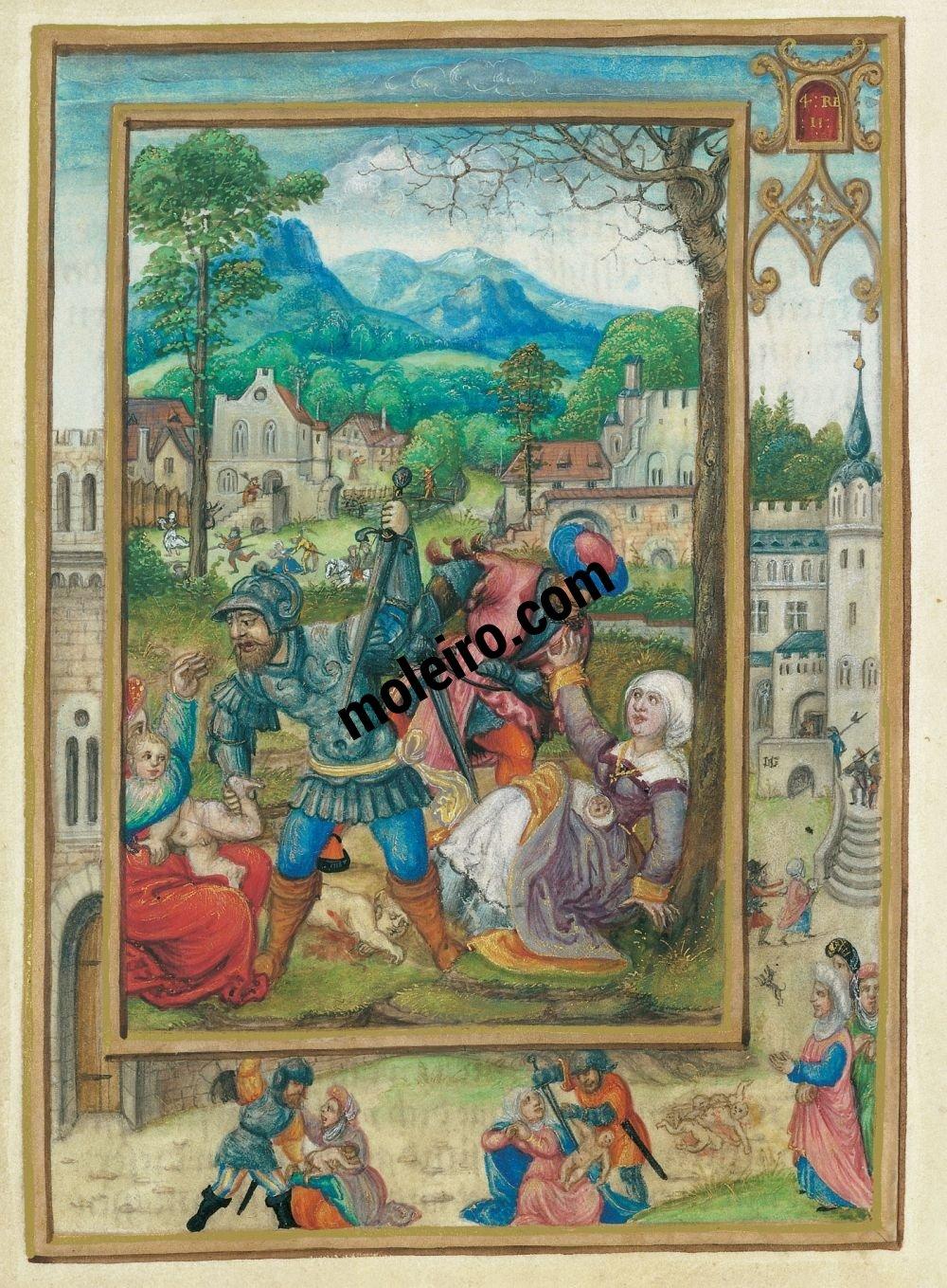Libro di Preghiere di Alberto di Brandenburgo folio 21v