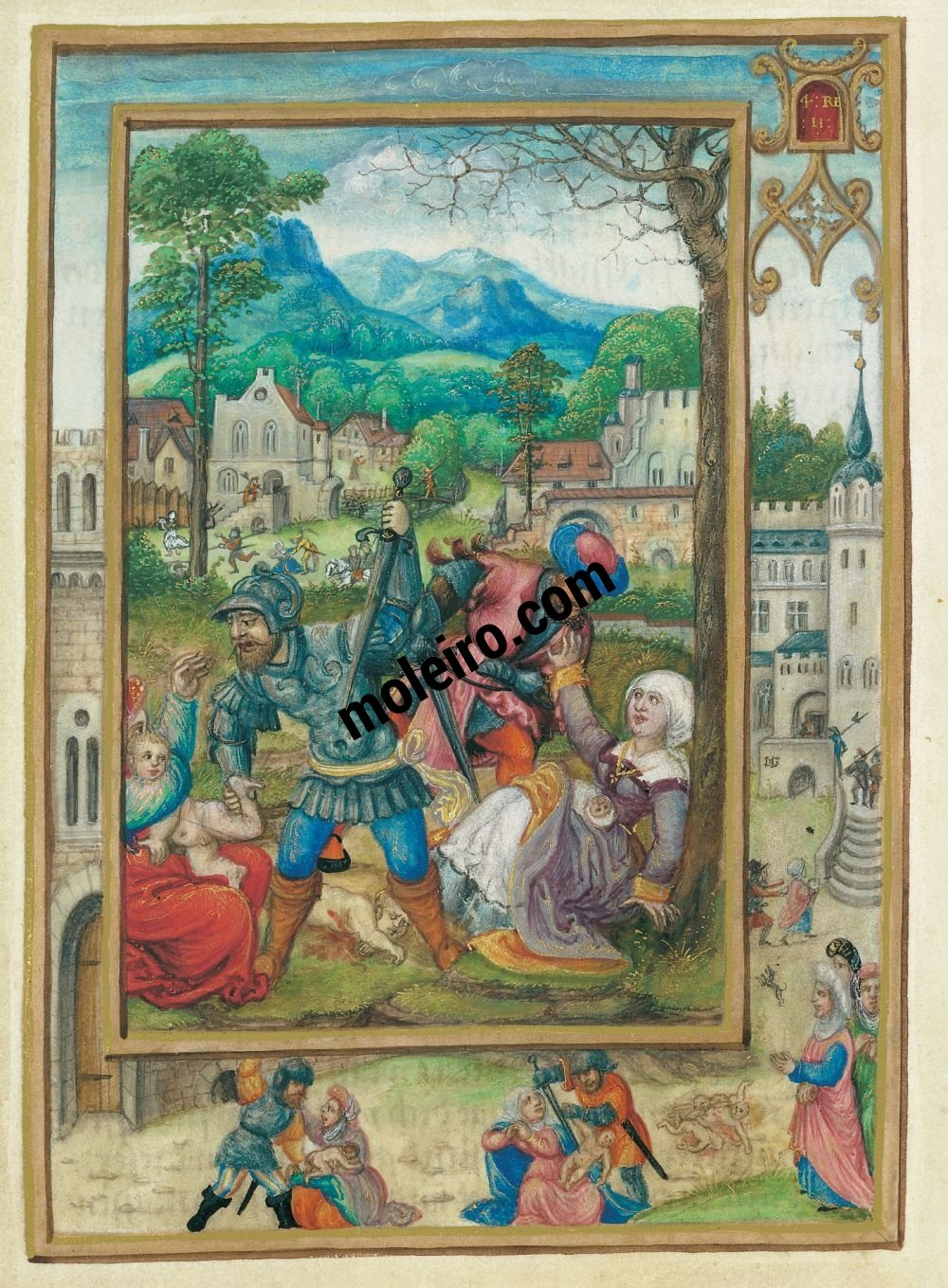 Livre de Prières d'Albert de Brandebourg f. 21v