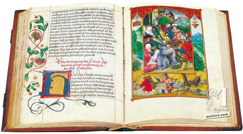 Libro di Preghiere di Alberto di Brandenburgo Biblioteca Estense Universitaria, Modena Biblioteca Estense Universitaria, Modena