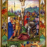 f. 72r, Crucifixión