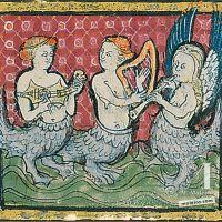 f. 47r, Von den Meerjungfrauen