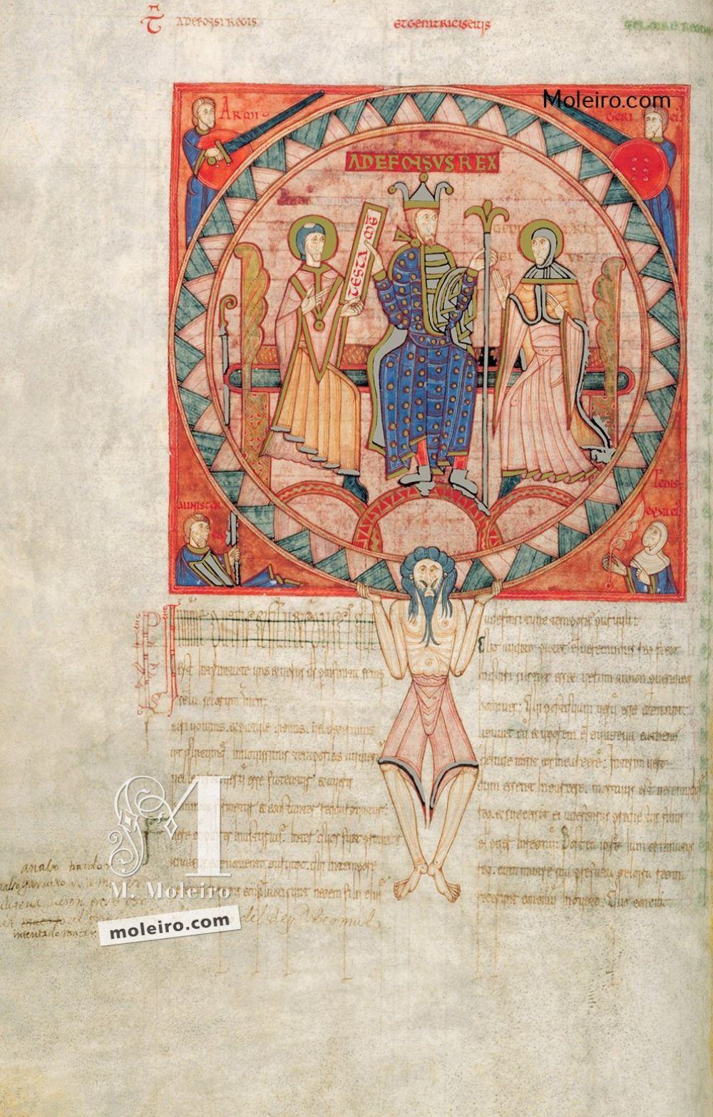 f. 53v, Testamento de Alfonso V en el Libro de los Testamentos Catedral Metropolitana, Oviedo (Siglo II) Liber Testamentorum