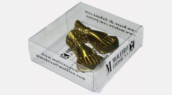 Pinzas sujeta páginas Pinzas en su caja