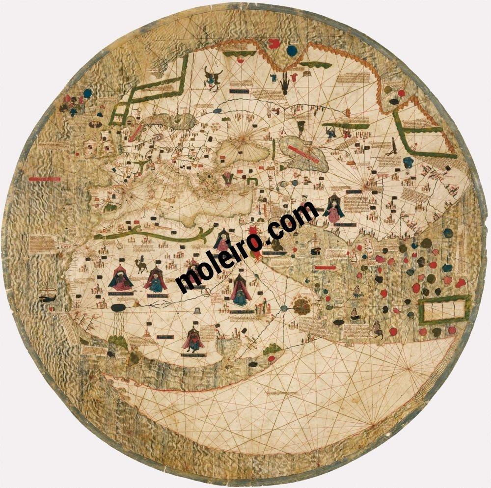 Estense World Map