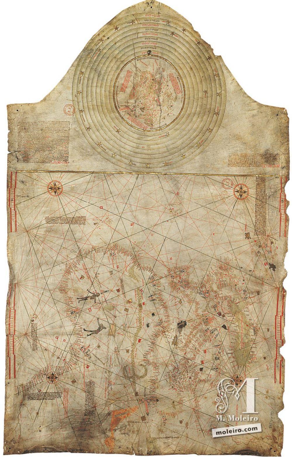 A Carta de Cristóvão Colombo, Mapa-múndi