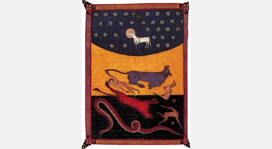 Beato de Liébana - Manuscritos Iluminados f. 230v, The Facundus Beatus