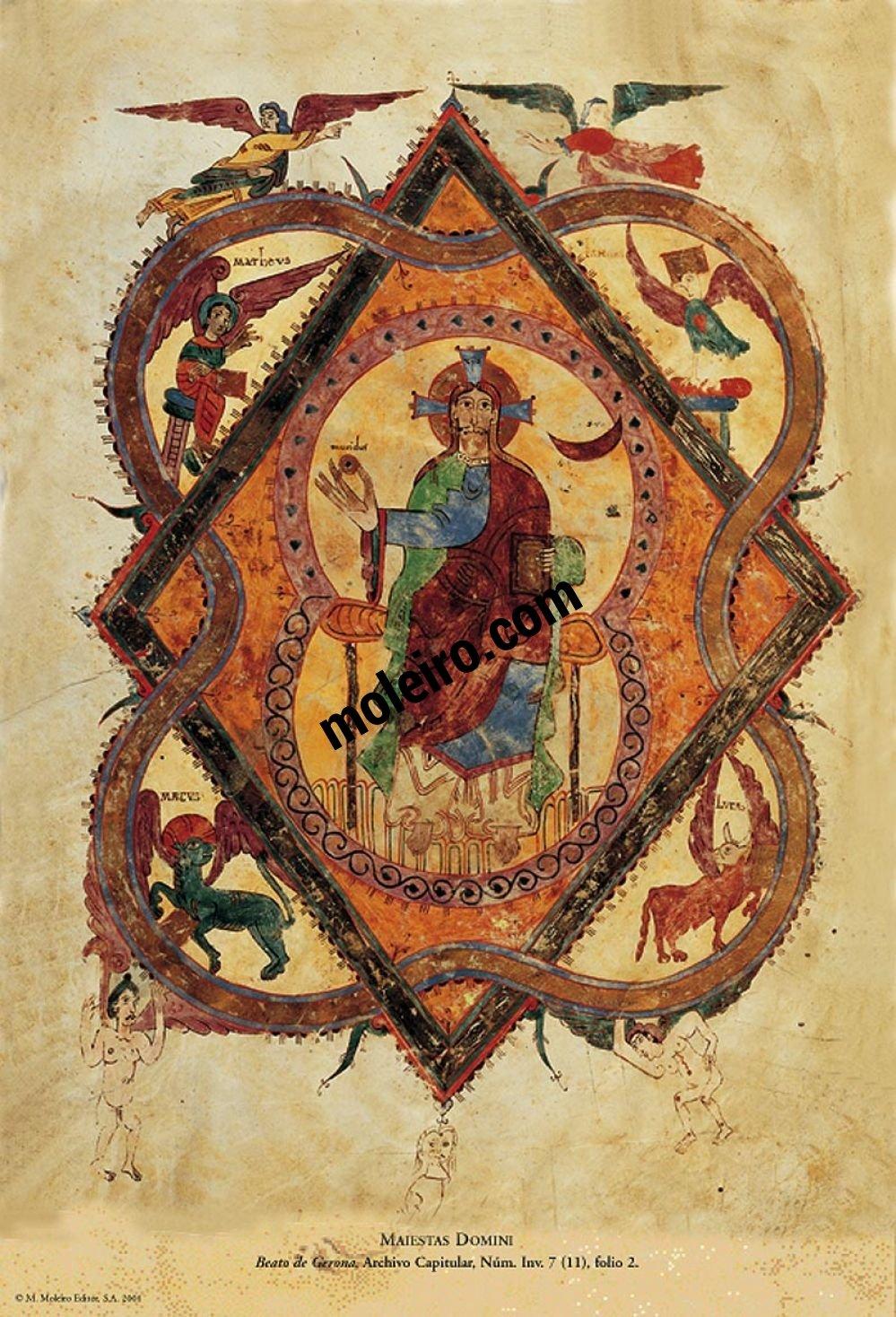 Beato de Liébana - Manuscritos Iluminados f. 2r, Beato de Girona