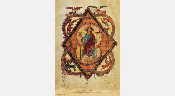 Beato de Liébana - Manuscritos Iluminados f. 2r, Girona Beatus