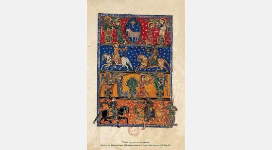 Beato de Liébana - Manuscritos Iluminados f. 70v, Arroyo Beatus