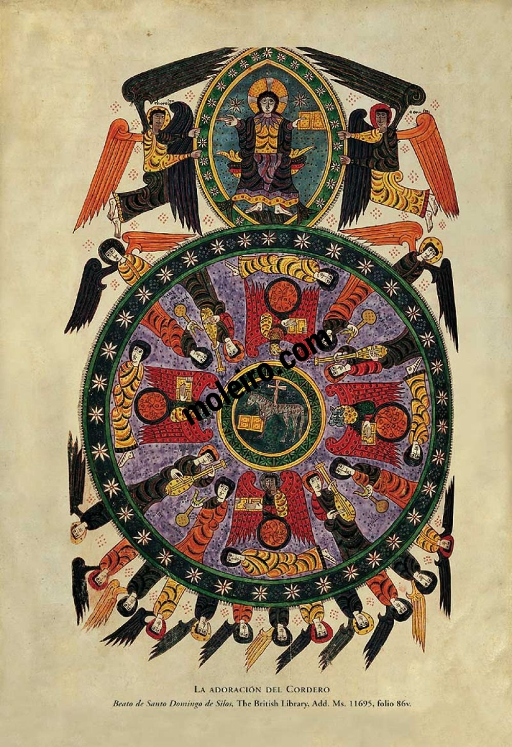 Beato de Liébana - Manuscritos Iluminados f. 86r, Béatus de Silos