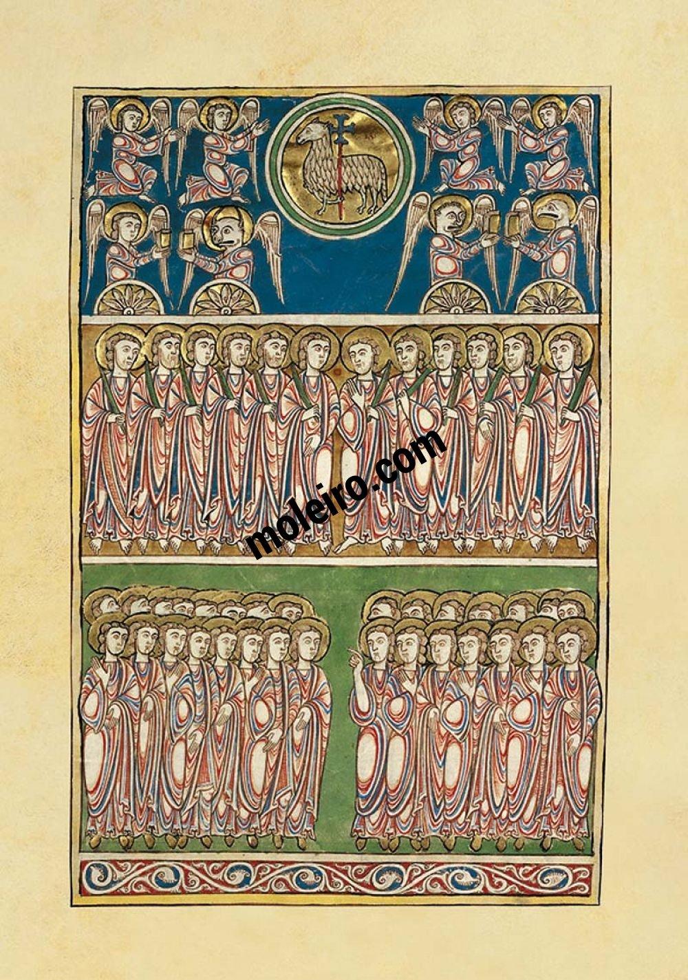 Beato de Liébana - Manuscritos Iluminados f. 82r, Beato de Cardeña