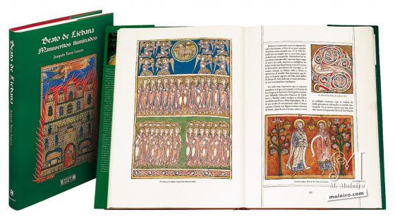 Beato de Liébana - Manuscritos Iluminados Lomo y portada del Beato de Liébana, Manuscritos Iluminados.