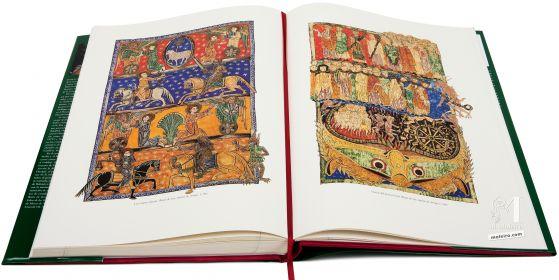 Beato de Liébana - Manuscritos Iluminados Los cuatro jinetes y Visión del juicio final. Beato de San Andrés de Arroyo
