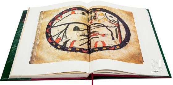 Beato de Liébana - Manuscritos Iluminados Mapamundi. Beato de Manchester, ff. 43v-44