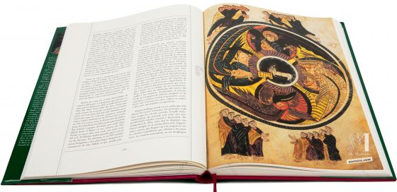 Beato de Liébana - Manuscritos Iluminados Adoración del Cordero. Beato de San Millán, f. 92