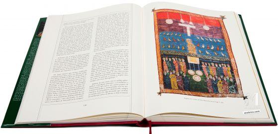 Beato de Liébana - Manuscritos Iluminados Ángeles ante el altar de Dios. Beato de la Seo de Urgel, f.106