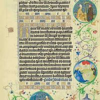 Images of the Medallions, 13th May, f.50r