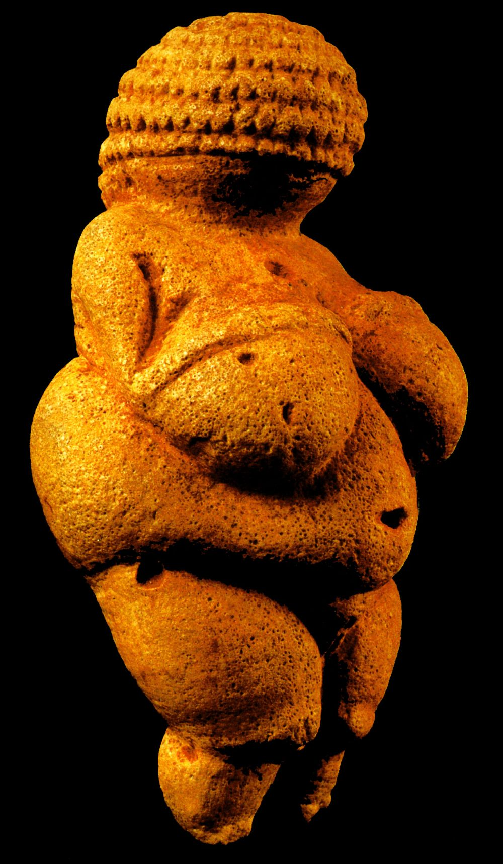 Mujeres. Mitologías Venus of Willendorf, Palaeolithic, Gravetian, Austria 25000-20000 BCE.