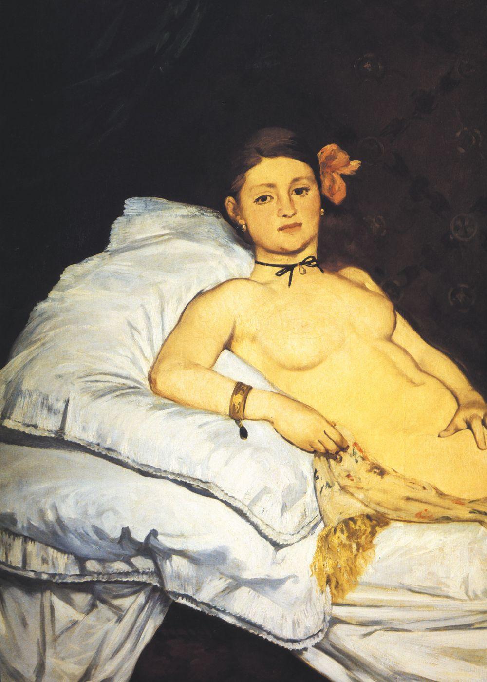Mujeres. Mitologías Edouard Manet,Olympia, 1863-1865.