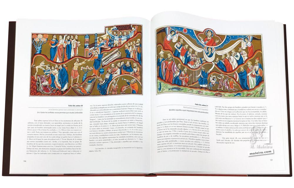Livre d'étude du Psautier Anglo-Catalan