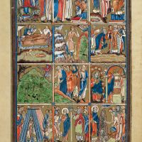 f. 2r,  Scenes from the Old Testament: Genesis - Exodus