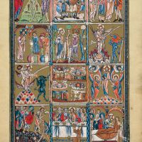 f. 3r,  Scenes from the life of Christ
