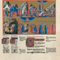 f. 114r, psalm 67  Let God arise and let his enemies be scattered