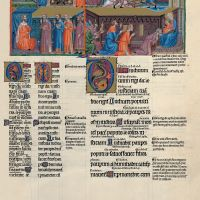 f. 124r, psalm 71  Give to the king your judgement, O God