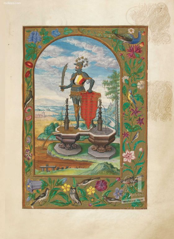Splendor Solis Knight of the Royal Art, f. 7r