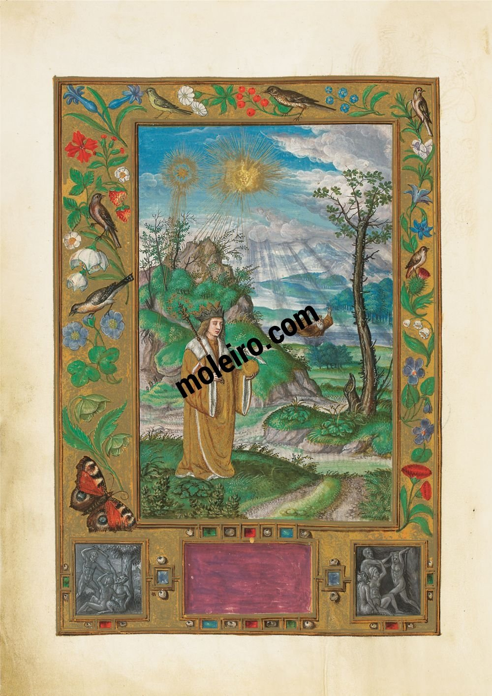 Splendor Solis Old and Young King, f. 16v
