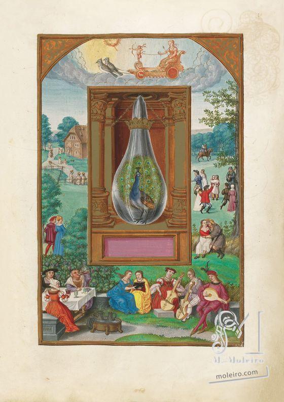Splendor Solis Venus, f. 28r