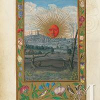 f. 33v, Rote Sonne (Tafel 22)