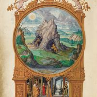 f. 13v, Bergwerk (Tafel 5)
