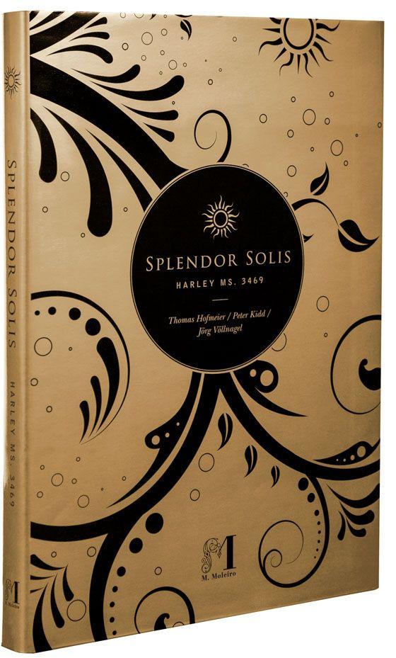 Splendor Solis Coperta del libro d'arte dello Splendor Solis