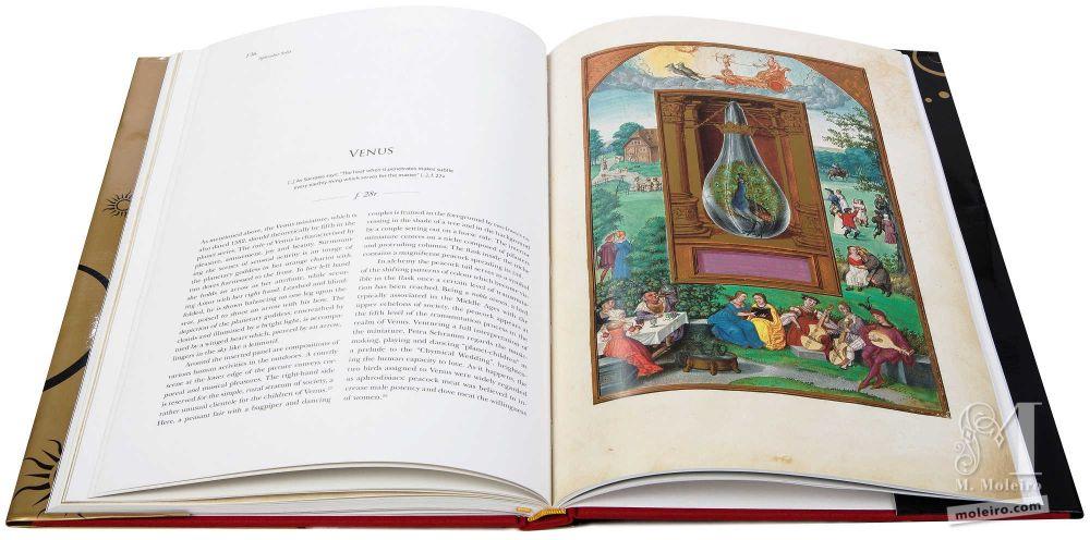 Venus in the splendor solis, alchemical codex, Harley Ms. 3469 (1582, Germany) British Library